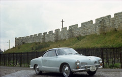 British Ghia (Mark.Swanson) Tags: england vw volkswagen karmannghia 1965