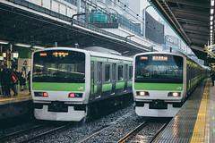 _MG_7642 (waychen_c) Tags: 東京 tokyo とうきょう jr train e231 山手線 yamanotesen rain 東京駅 tokyostation jr東日本 jreast japanrailways