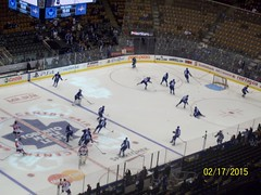Toronto Maple Leafs Vs Florida Panthers Feb 17th 2015 (Musicluver12) Tags: toronto canada nhl maple florida air center panthers leafs tml