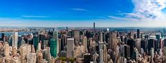 The greatest view (MacCabri) Tags: panorama newyork canon centralpark manhattan empirestate 24105 eos70d