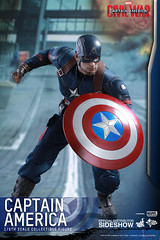 Figura Capitán América: Civil War Movie Masterpiece (Acero y Magia) Tags: españa tienda civilwar marvel captainamerica sideshow masterpiece figura theavengers vengadores hottoys losvengadores importacion capitánamérica