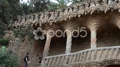 032221418-park-guell-barcelona (daria.boteva) Tags: barcelona park travel bridge summer urban abstract brick art history tourism vertical stone architecture modern facade garden outdoors design spain europe gallery european pattern cityscape exterior traditional decoration cities culture nobody scene row catalonia spanish journey gaudi styles column ornate antonio guell vacations province modernist elegance summerpark destinations ditail summerabstract