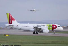 TAP Portugal A319-100 CS-TTM (birrlad) Tags: uk england man portugal airplane manchester airport ramp lisbon taxi aircraft aviation airplanes terminal apron international airline airbus airways tap airlines departure takeoff runway airliner departing taxiway a319 a319100 a319111 csttm tp321