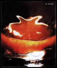 Orangensaft im Dubbeglas