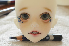 [Faceup] - DZ Carter (Ricccq_) Tags: doll dolls bjd dz faceup dollzone bjdfaceup dzcarter