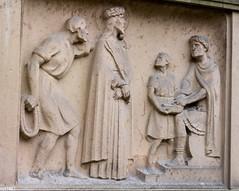 Jesus wird zum Tode verurteilt (wpt1967) Tags: church kirche mnster christus kirke kreuzweg canon50mm stpaulusdom station1 1station jesuswirdzumtodeverurteilt eos1100d wpt1967