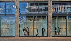 The Sting and I (Hindrik S) Tags: street people color reflection mannequin window shop 50mm colorful dummies pavement candid sony streetphotography etalage 180 1750 paintshoppro passing alpha tamron f11 hdr straat thesting weerspiegeling reflectie a57 2016 spiegeling etalagepoppen x8 iso250 straatfotografie tamron1750 sonyalpha tamronspaf1750mmf28xrdiiildasphericalif wirdumerdijk refleksje sonyphotographing strjitte wjerspegeling wurdumerdyk kh2018 slta57 57