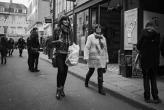 Mother & Daughter (Alexander Jones - Documentary Photography) Tags: street england white black west monochrome photography nikon bath candid south north documentary somerset east moment decisive d3000