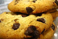 Chocolate Chip Cookies (priscillag05) Tags: food macro dessert cookie chocolate chocolatechipcookie