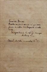 Antonio Luna: Autograph Manuscript (Leo Cloma) Tags: religious gallery furniture auction philippines images ephemera leon auctions makati autographs manuscripts cloma