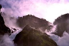 untitled. (dewr.) Tags: nature water norway analog waterfall norwegen roadtrip yashica
