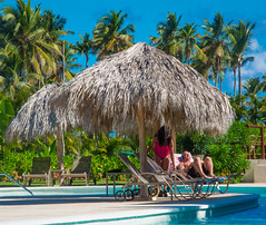 Quiet Time By The Pool (nfRabbit) Tags: dominicanrepublic resorts puntacana swimingpool laaltagracia breathlessresort