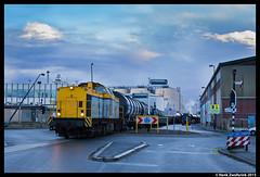 LTE 203 102, Vlaardingen 25-11-2015 (Henk Zwoferink) Tags: v100 102 203 henk vlaardingen vopak shunter lte zwoferink