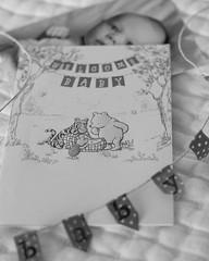 Welcome Baby (srlh627) Tags: baby banner card pooh winniethepooh 52weeksthe2016edition week62016 weekstartingfridayfebruary52016