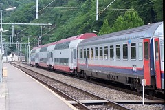 2/5 CFL 3002 DMS-I10-I6-Dostos - Kautenbach, 14-07-2005 (dloc567) Tags: i10 alstom 3000 serie cfl dms nmbs i6 sncb dosto kautenbach eurofima kiischpelt kautebaach
