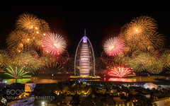 """A New Beginning II"" (ElginCon) Tags: city travel light urban building beach water beautiful skyline architecture night point fun al high long exposure dubai cityscape gulf angle fireworks uae happiness tags newyear east arab middle popular happynewyear jumeirah vantage prakash burj 500px dpphotography ifttt ny2016"