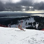 Katrina Voss Teck U16 Open SL at Grouse Mountain, March 4-6/16 PHOTO CREDIT: Maria Sederholm