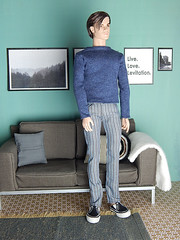 My new male fashions! (Levitation_inc.) Tags: boy man male men boys fashion toys doll handmade ooak ken levitation it clothes figure dynamite royalty hommes homme integrity