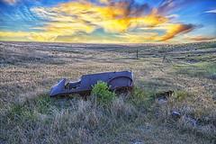 Dad's car (Kansas Poetry (Patrick)) Tags: dustbowl kansas oberlinkansas patrickemerson patricklovesnancy