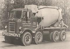 Mack H mixer (PAcarhauler) Tags: truck mixer mack coe cabover
