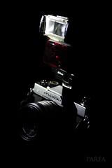Flash. Thunder. (Parfa) Tags: black slr film nikon fuji ben flash x benny stx af 60mm dslr speedlight fujica fujinon f28 mak on micronikkor afd stx1 sb22 sb22s d700 xfujinon parfa