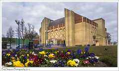 Scunthorpe Library (Paul Simpson Photography) Tags: flowers building bricks lincolnshire streetfurniture scunthorpe towncentre carbuncle photosof photoof northlincs southhumberside sonya77 paulsimpsonphotography viewsofscunthorpe march2016 scunthorpecentrallibrary visitscunthorpe
