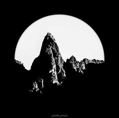 La Persvrance Abstraite (Frdric Fossard) Tags: art montagne lumire contraste cercle abstrait surraliste aiguillesrouges luminosit
