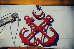 Anchored (Melissa Maples) Tags: ferry port marina turkey boat dock nikon asia harbour trkiye istanbul nikkor vr afs  eminn 18200mm  f3556g  18200mmf3556g d5100