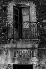 Casa del Popolo ovvero: reliquie anni '30. (lumun2012) Tags: sardegna bw monocromo sardinia antico architettura biancoenero lucio antiquity rovine monocrome dorgali mundula