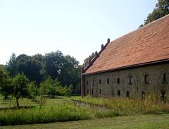 Am Kloster Lehnin, Brandenburg ... (bayernernst) Tags: park deutschland kirche september brandenburg klosterkirche 2013 lehnin klosterlehnin snc16985 07092013