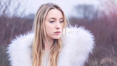 Morgane (MigdaPhotography) Tags: portrait hiver extrieur personne douceur mlancolie tourments migda penss