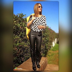 Buen sbado noche a todos! A disfrutar que el finde pasa volando  #elblogdemonica #lookdeldia #lookoftheday #oddt #outfits #outfitsideas #sencillez #streetstyle #instagram #inpiration (elblogdemonica) Tags: hat fashion shirt bag happy shoes pants details moda zapatos jacket trendy tendencias looks pantalones sombrero collar camiseta detalles outfits bolso chaqueta pulseras mystyle basicos streetstyle sportlook miestilo modaespaola blogdemoda springlooks instagram ifttt tagsforlike elblogdemonica
