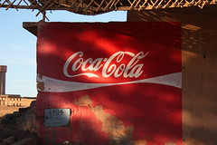 Painted ad (orangebrompton) Tags: sahara painted morocco cocacola mhamid advertistement
