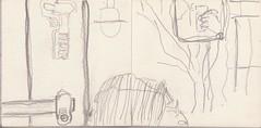 wohin er ging war das Leben schnell. Sollte er inne halten (raumoberbayern) Tags: city winter bus fall pencil paper munich mnchen landscape herbst tram sketchbook stadt papier landschaft bleistift robbbilder skizzenbuch strasenbahn