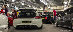 White Scirocco & R32 Exhaust (karlbadkin) Tags: show bus car vintage golf beetle german bmw beatle modified jetta van audi polo herbie rocco vag scirocco herby