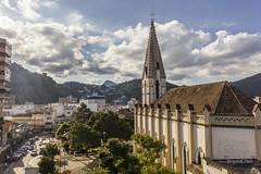 Igreja Matriz de Santa Teresa, Terespolis, RJ, Brasil (shooterb9) Tags: brazil sky church brasil riodejaneiro clouds rj igreja teresopolis brasilemimagens