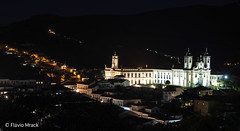 Night view from historical center, Ouro Preto, Minas Gerais, Brazil (Flvio Photography) Tags: brazil minasgerais brasil br ano ouropreto historicalcity 2013