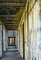 Abandon Hope.jpg (Eye of G Photography) Tags: sunset usa texture lines stairs concrete shapes places whidbeyisland northamerica stains washingtonstate sunsetsunrise fortcasey