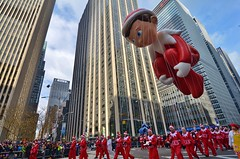 Macy's 2015 Thanksgiving Day Parade/Balloon Inflation (gigi_nyc) Tags: nyc newyorkcity autumn balloons macysthanksgivingdayparade thanksgivingday macys macysparade