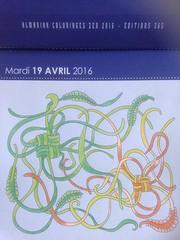 Almaniak 2016 de Maud.it (Maud Taron) #zendessin (delphinecingal) Tags: colors couleurs coloring maudit coloriage crayonsdecouleurs maudtaron zendessin almaniak2016