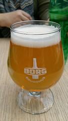 Last Icelandic beverage of the trip (Harobed and Samoht) Tags: beer lunch iceland borg 2015 reykjaik