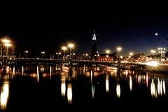 (Stevelb123) Tags: longexposure nightphotography travel colors night europe sweden stockholm saturation gamlastan nightphoto traveling scandinavia travelphotography stockholmcityhall fujix100t