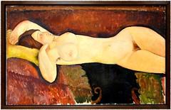 Amedeo Modigliani, Nu couch, 1919, huile sur toile (Barbara DALMAZZO-TEMPEL) Tags: nyc manhattan moma museumofmodernart 1919 oiloncanvas recliningnude amedeomodigliani nucouch huilesurtoile