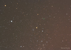 Comet 252P/LINEAR (lajza27) Tags: sky night canon stars astro astrophotography astronomy comet dss linear astrophoto darksky starrynight cokinfilter cokin canon5014 deepskystacker stks 252p cebalrai ic4665 starrynightastrophotography 252plinear nylthalmaz