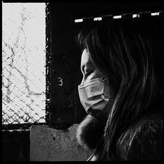 Rene (ShelSerkin) Tags: street nyc newyorkcity portrait blackandwhite newyork candid streetphotography squareformat gothamist iphone mobilephotography iphoneography shotoniphone hipstamatic shotoniphone6