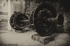 Turbine (cashacker1980) Tags: bw mill water arquitectura agua europe antique croatia bn molino noise croazia turbine antiguo croacia krka turbina