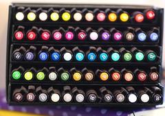 Week 15: Circles / 60 Pitt Pens (Niki Gunn) Tags: color macro moleskine pentax circles april pens pitt tamron 90mm lightbox k5 tamron90mm week15 2016 fabercastell tamron90mmf28 tamron90mmmacro pittpens tamronspaf90mmf28 pittartistpens 52project2016