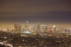 LA Downtown (rganeshraam) Tags: city pits la los angeles dusk fossils tar brea