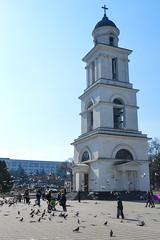 Cathedral bell tower in Chiinu, Moldova (maykal) Tags: chisinau moldova kishinev chiinu moldavie   kiinev