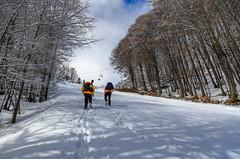 The endless climb... (Alessandro Iaquinta) Tags: friends mountain snow trekking canon landscape photography eos reflex italia colours wide fullframe dslr picoftheday 5dmarkiii